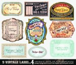 23 Free Vintage Vector Labels