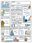 Freebie | All About Me Back-to-School Doodle Sheet
