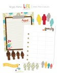 Free Printables | August Document It from Simple Stories