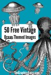 50 Free Ocean Themed Graphics