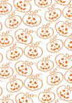 Freebie | Halloween Scrapbook Paper Pumpkin Patch