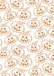 Freebie | Halloween Scrapbook Paper Pumpkin Patch