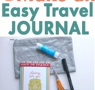 How to Make a Quick Travel Journal