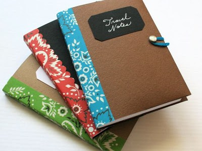 Free Template & Tutorial for a Notebook Cover