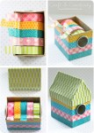 How to Make a Washi Tape Dispenser
