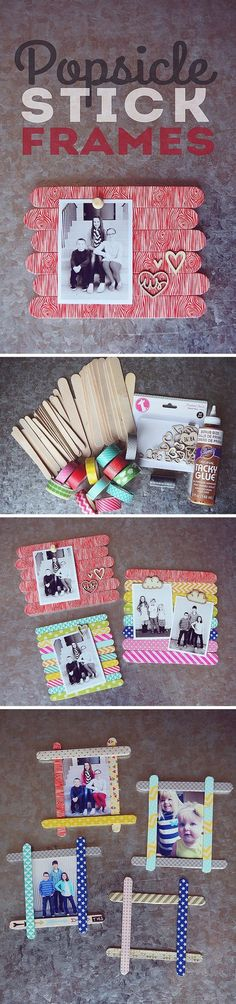 diy-popsicle-stick-photo-frames-with-washi-tape