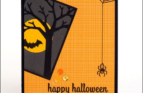 Tutorial- Halloween Spider Card