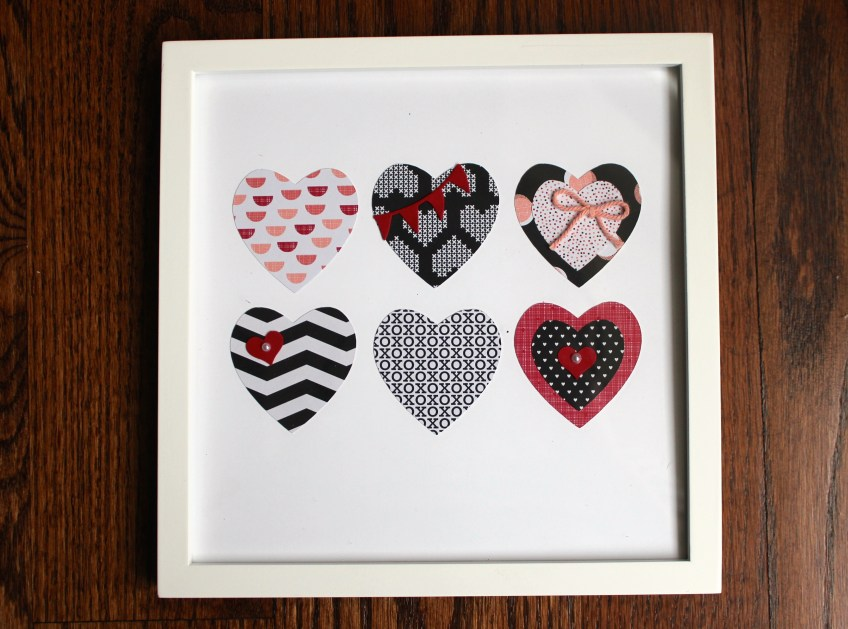 Heart Frame by Scrappy Bags