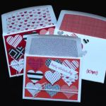 Valentine's Day cards by Scrappy Bags