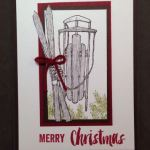 Winter Wishes from 2016 Holiday Stampin' Up! Catalog