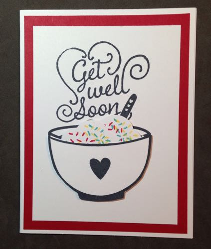 Get Well Soup from 2015-2016 Annual Stampin' Up! Catalog