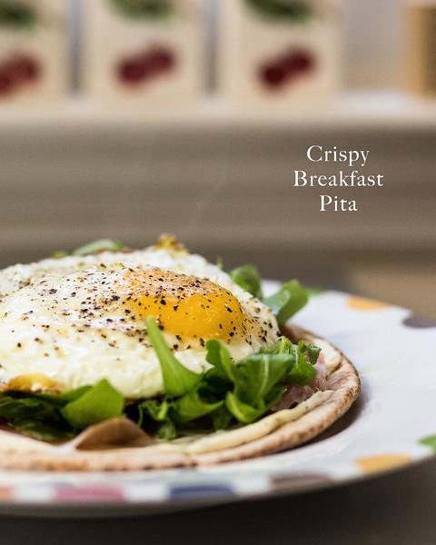 Crispy Breakfast Pita - My favorite way to eat breakfast!