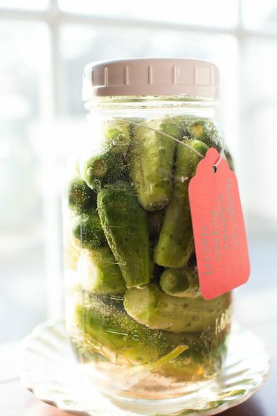 Hungarian Summer Pickles   Sidewalk Shoes