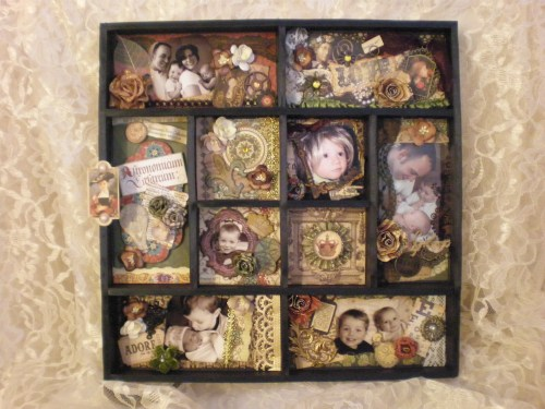 Medium Of What Is A Shadow Box
