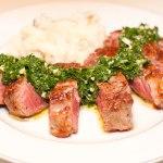 Sirloin Steak and Chimichurri