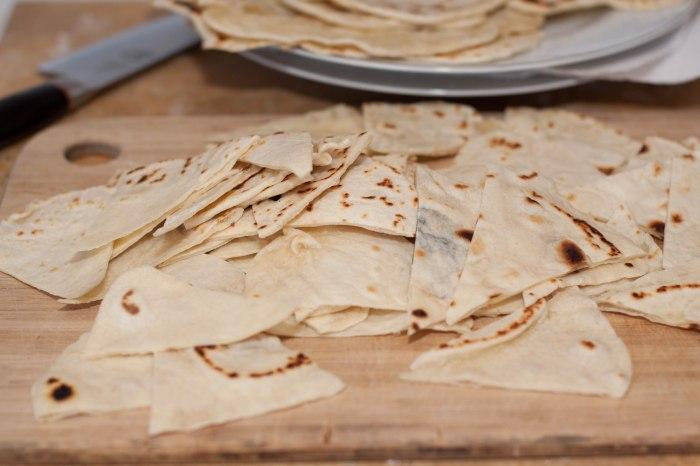 From Scratch tortilla chips!