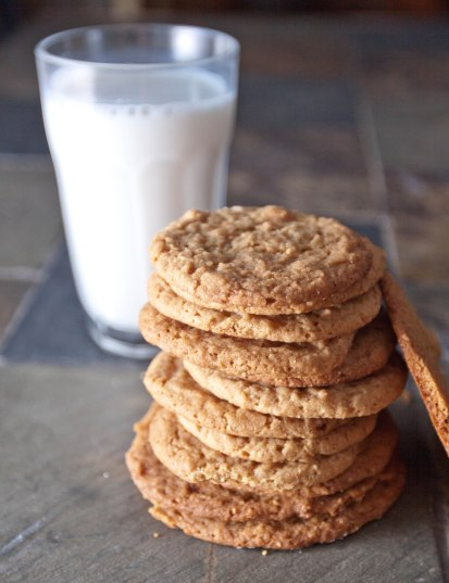 Egg-free Peanut Butter Cookies