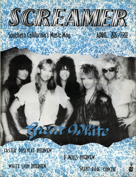 Screamer Magazine April 1988