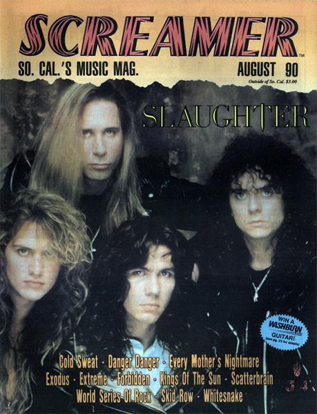 Screamer Magazine August 1990