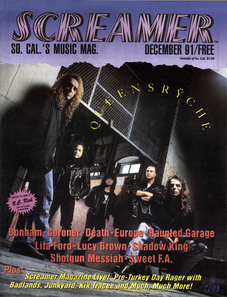 Screamer Magazine December 1991
