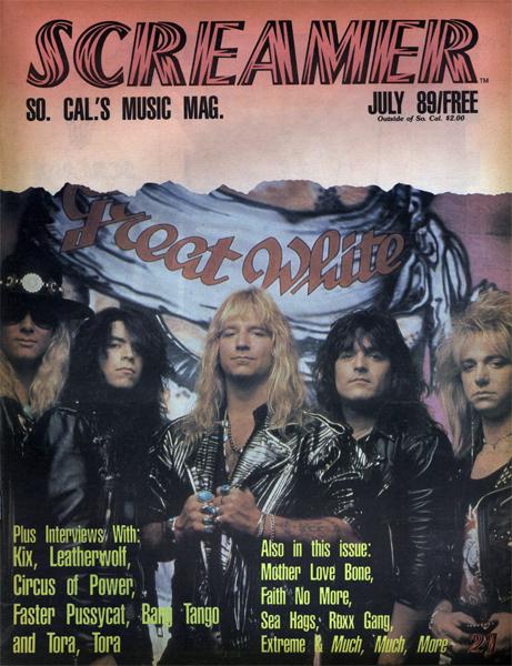 Screamer Magazine July 1989
