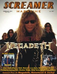 Screamer Magazine February 2012