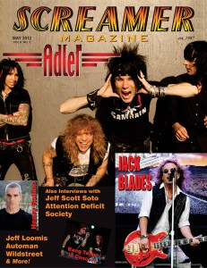 Screamer Magazine May 2012