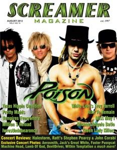 Screamer Magazine August 2012