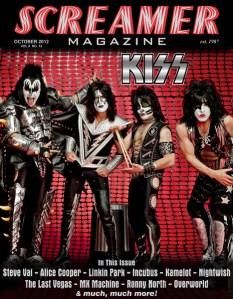 Screamer Magazine October 2012