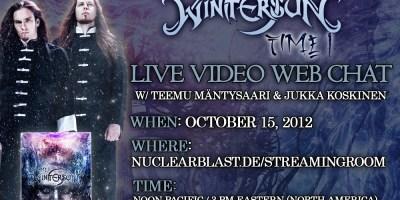 Wintersun live chat