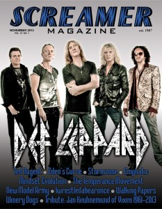 Screamer Magazine November 2013