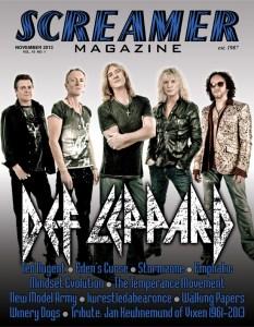 Screamer Magazine November 2013