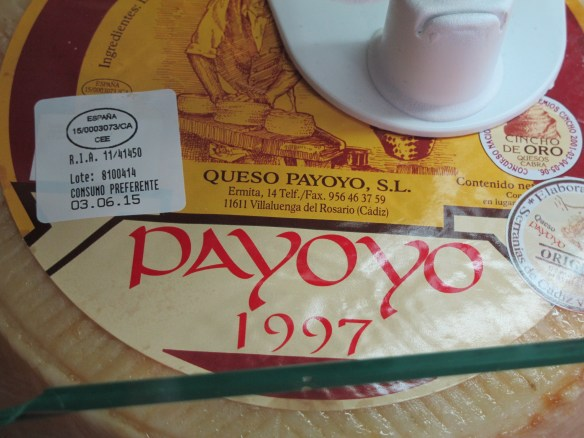 Cheese made from payoyo goats' milk.