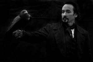 Edgar Allan Poe et le Corbeau