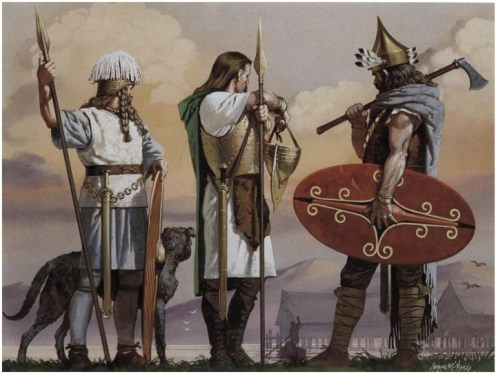 guerriers celtes