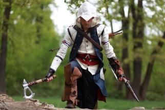 assassin creed 3, un cosplay par Pierre Seith S.