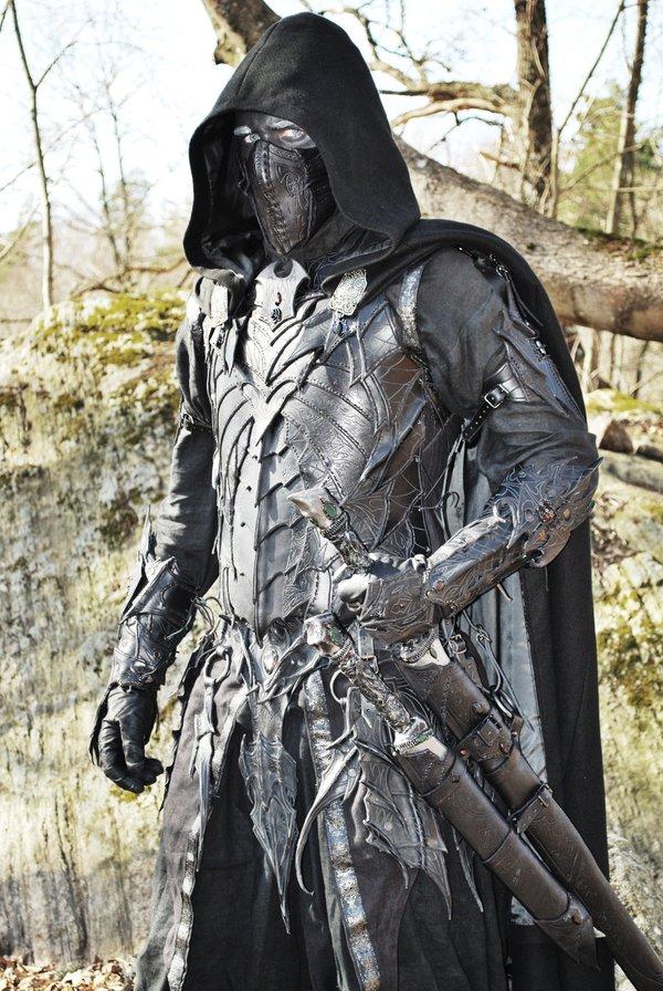 Drow specialist complete by Sharpener Costume de Drow pour un GN plus vrai que nature