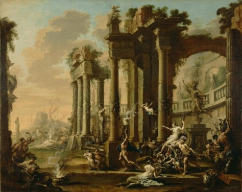 Alessandro Magnasco [Italian (Genoese), 1667 - 1749], The Triumph of Venus, Italian, about 1720 - 1730, Oil on canvas