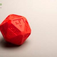 Des D20 en braille grace à une imprimante 3D