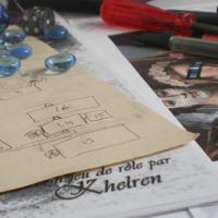 Sur Patreon soutenez Khelren créateur de jeu de rôle