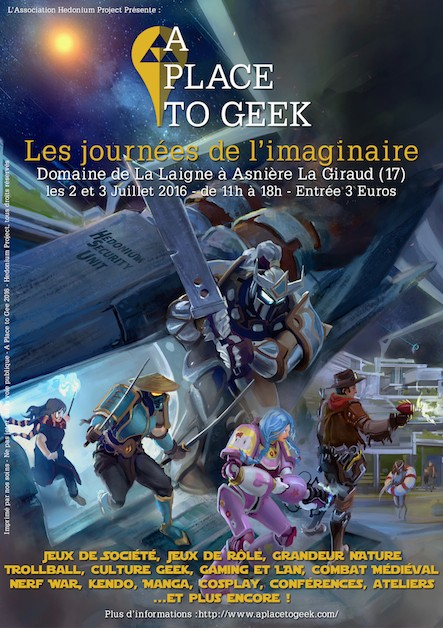 Affiche A place to geek