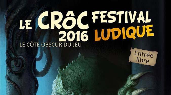 CRÔC 2016 - Festival Ludique