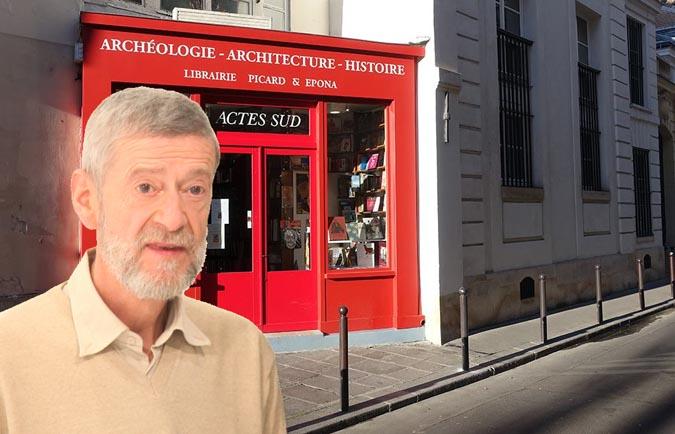 Rencontre et dédicace avec Claude Lecouteux - la librairie Picard & Epona, Paris, le 9 juillet
