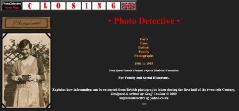 closing photo detective