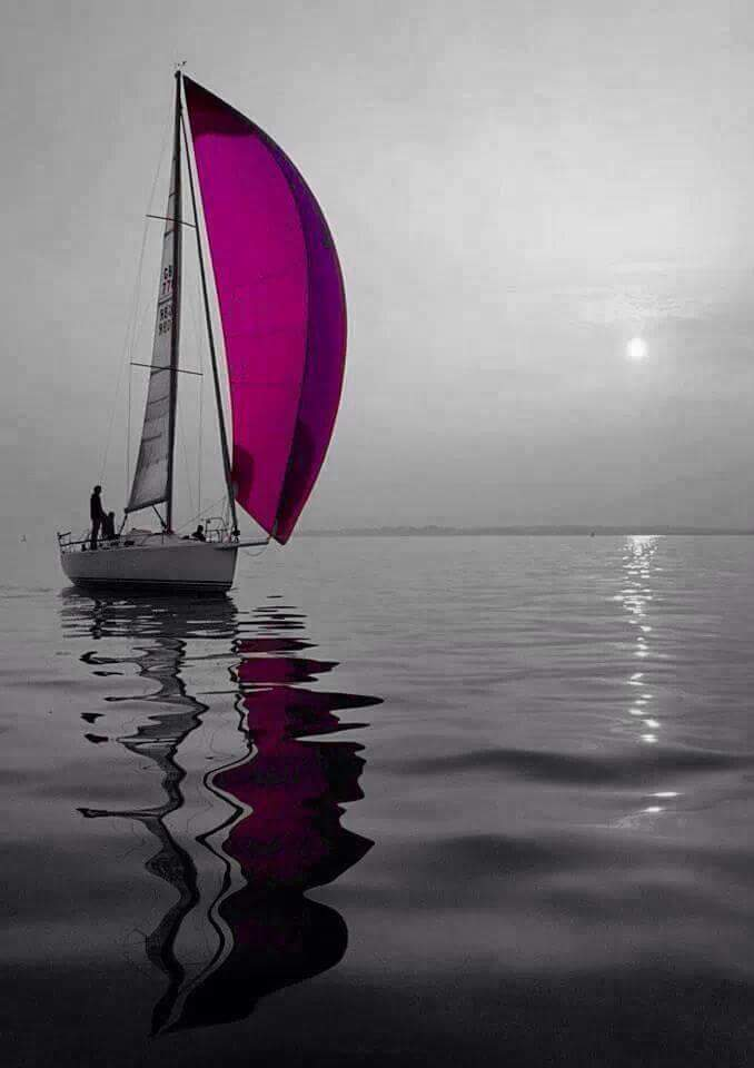 His Breath is the Wind to my Sails