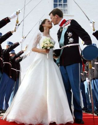 Marie Cavallier Prince Joachim of Denmark royal weddings