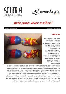 Capa - Correio da Artes ed 02