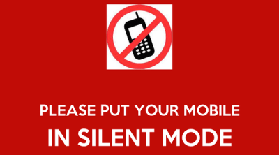 PLEASE PUT YOUR MOBILE IN SILENT MODE Poster   dlvara72   Keep Calm-o-Matic