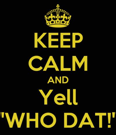 KEEP CALM AND Yell