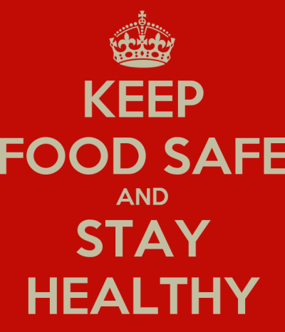 KEEP FOOD SAFE AND STAY HEALTHY Poster | jules | Keep Calm-o-Matic